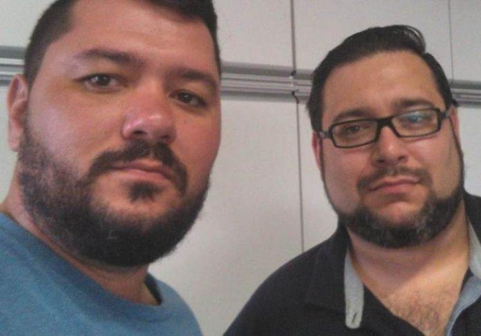 Antonio (à esquerda) e Maicon Antonio (à esquerda) e Maicon Foto: Arquivo Pessoal|Tonho e Jefferson