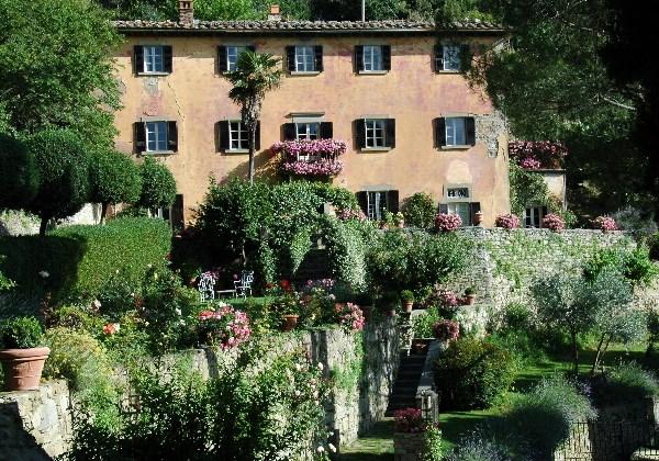 Villa Bramesole, residência da escritora real