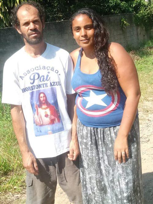 Sidneia e Jumauro - Foto: Emerson Francisco Silva de Carvalho/Arquivo Pessoal