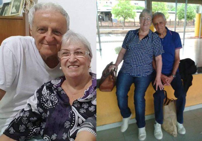 Dina e Henrique - Fotos: reprodução