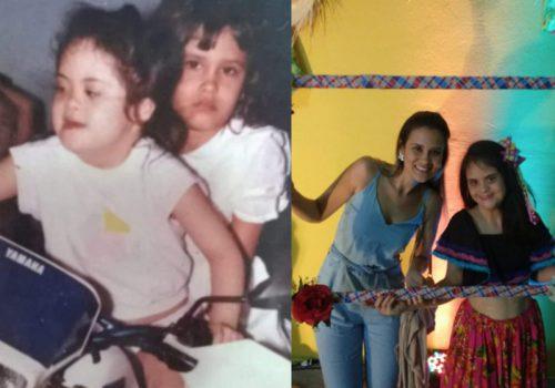 As gêmeas Graziela e Rafala - Fotos: arquivo pessoal / divulgação autorizada