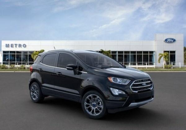 Ford Eco Sport Foto: Divulgação