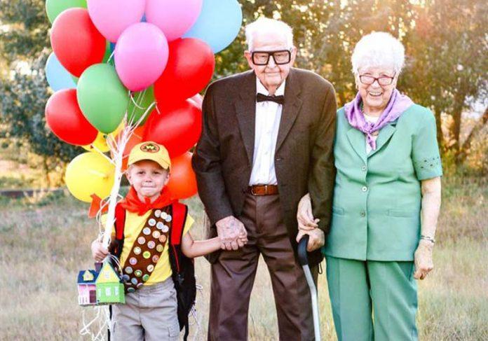 Elijah e os bisavós - Foto: Rachel Perman||||