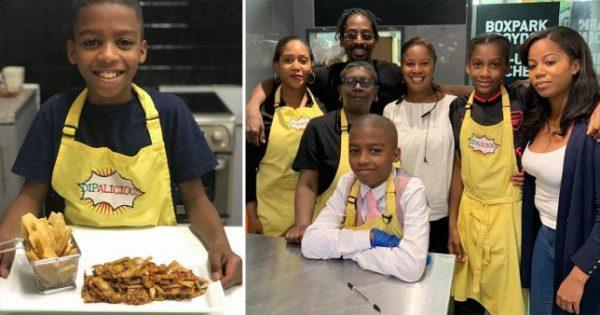 Omari McQueen e família - Fotos: Kennedy News and Media
