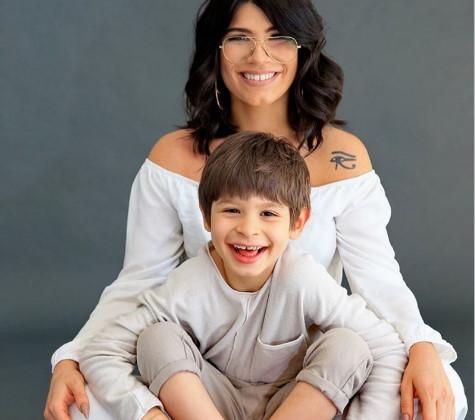 Lau e o filho João Foto: Instagram