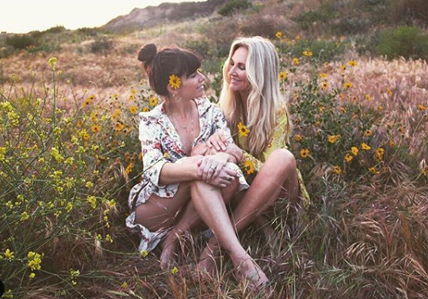 Arielle e Angela Foto: instagram
