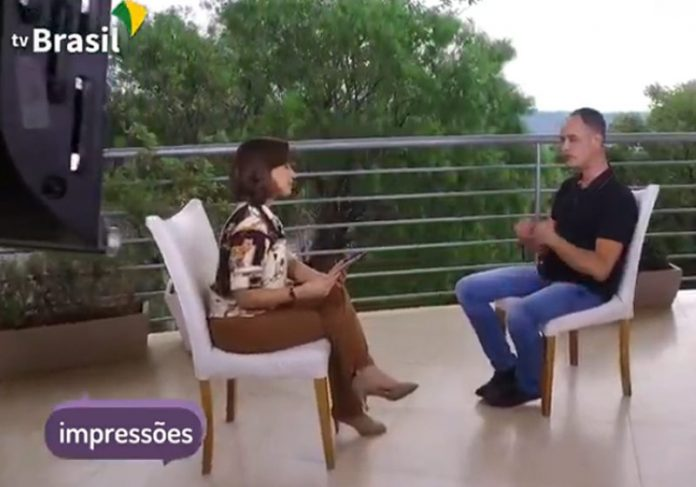 Katiuscia Neri e Rinaldo de Oliveira - Foto: reprodução / TV Brasil