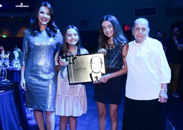 Família recebe homenagem a Boechat - Foto: Leo Franco/AgNews