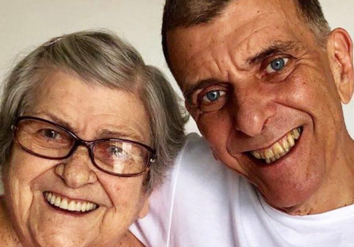 Dona Hilda e Jorge Fernando - Foto: reprodução / Instagram