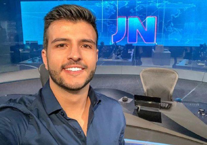 Matheus Ribeiro no JN - Foto: arquivo pessoal