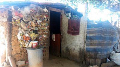 Fundos da casa de barro - Foto: Gustavo Araújo Mota