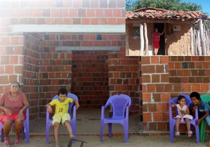 As casas de dona Fátima- Fotos: arquivo pessoal e Gustavo Araújo Mota    