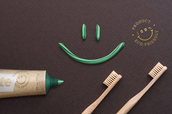 Tubo para pasta biodegradável - Foto: reprodução / Allan Gomes