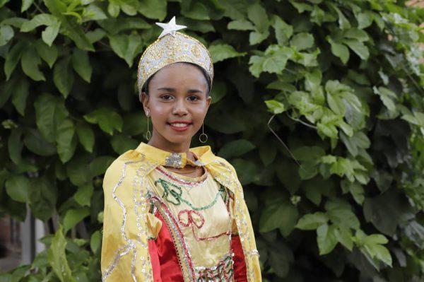 A rainha do bloco das Pretinhas - Foto: Fábio / FCA
