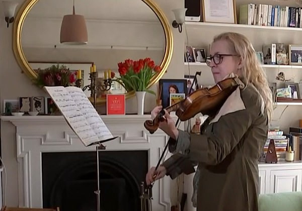 Dagmar é violonista de Orquestra e não queria perder os movimento Foto: reprodução