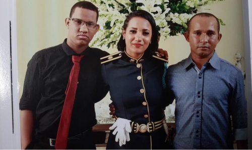 Andreia e a família agora - Foto: arquivo pessoal