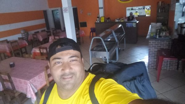 Osvaldo Ramos, dono do restaurante - Foto: arquivo pessoal