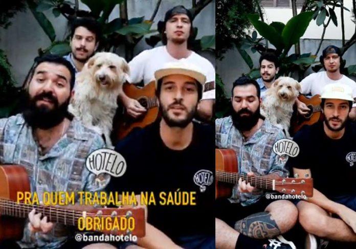 Banda Hotelo - Foto: reprodução / Youtube||