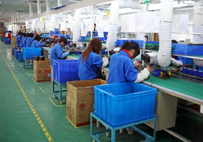 Linha de produção/Jinbei - Foto: commons wikimedia