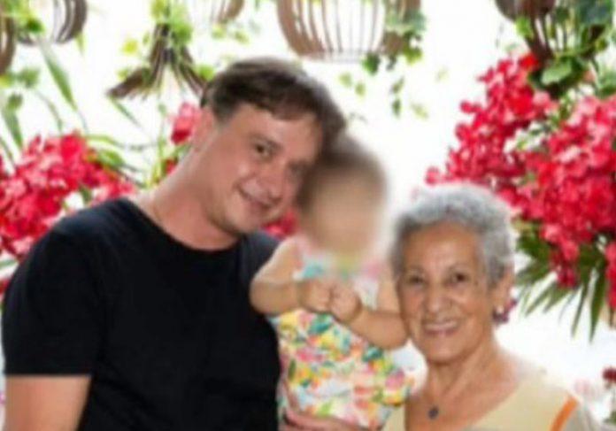 Família curada da covid-19 no Rio - Foto: reprodução / RecordTV