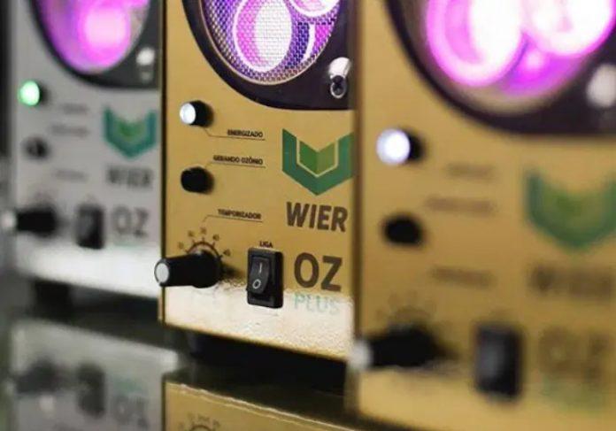 Gerador de Ozônio Foto: Wier