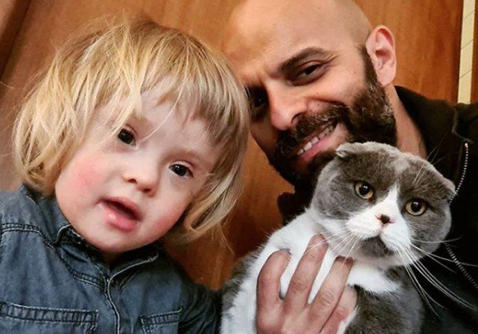 Alba, Luca e o gato - Foto: reprodução / Instagram