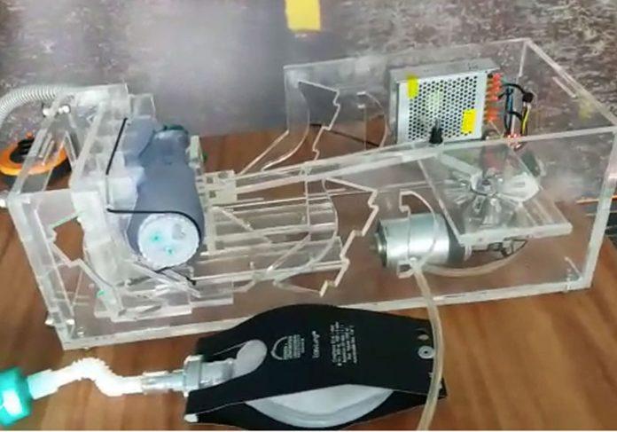 Respirador desenvolvido em Brasília - Foto: divulgação