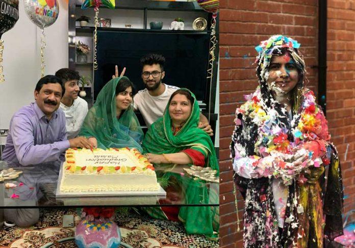 Malala festeja diploma de Oxford - Fotos: reprodução/Twitter
