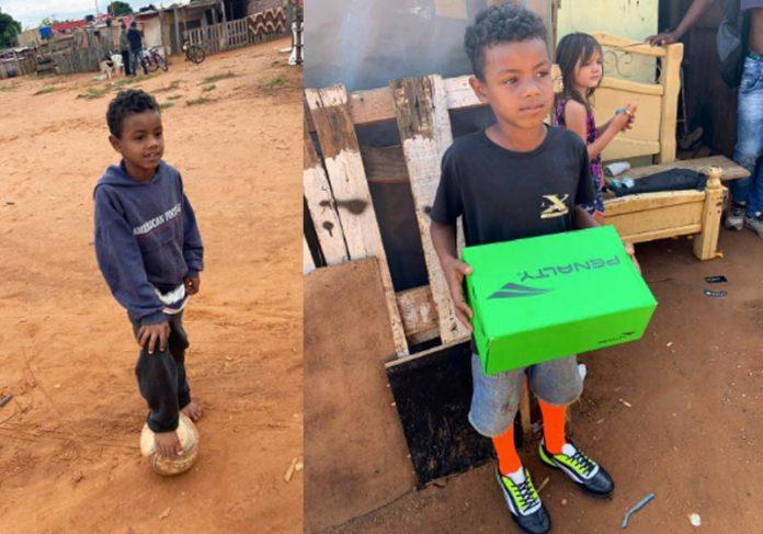 Heverton Igor, 7 anos - Fotos: arquivo pessoal/Bruno Nóbrega