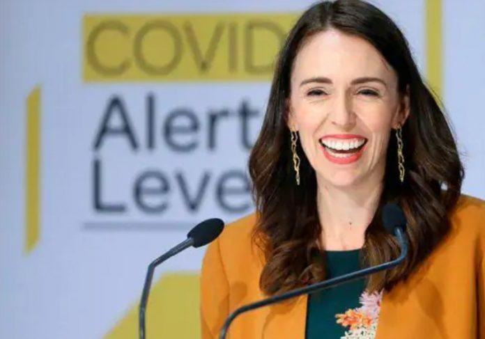 A primeira-ministra da NZ confessa ter dançado em casa pra comemorar Foto: reprodução