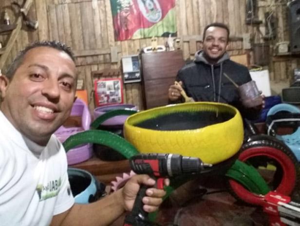 Uilson (esq) e Vinícius - Foto: divulgação