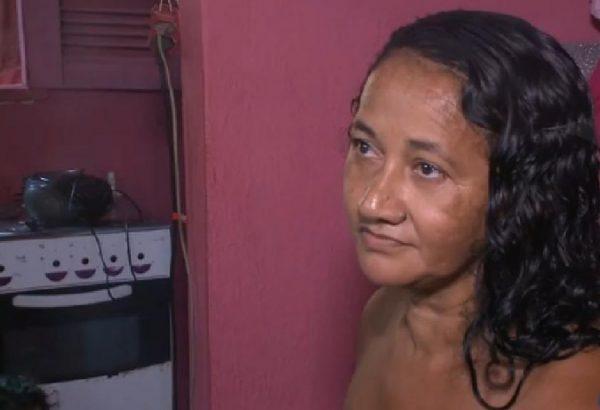 Maria Silvana na casa provisória - Foto arquivo pessoal