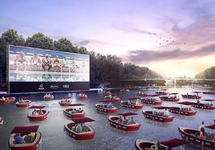 Foto: Le cinema sur l'eau