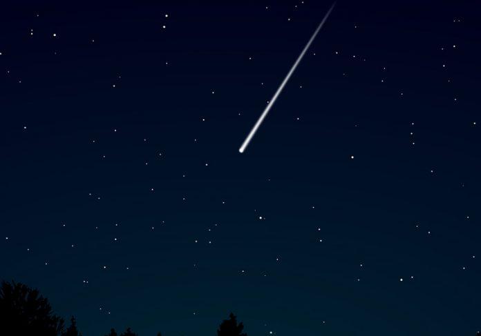Estrela cadente - Foto: Pixabay