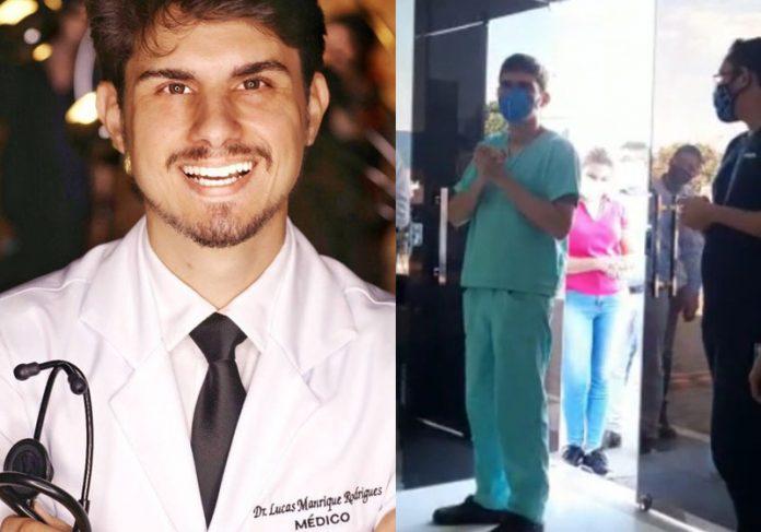 Médico Lucas Manrique - Foto: reprodução / Facebook