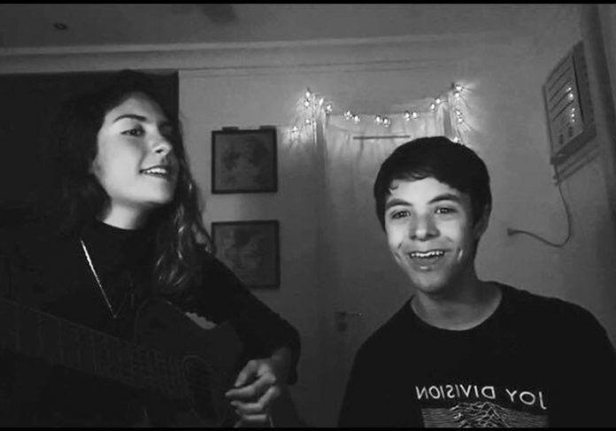 Marina e Máximus cantando - Foto: reprodução