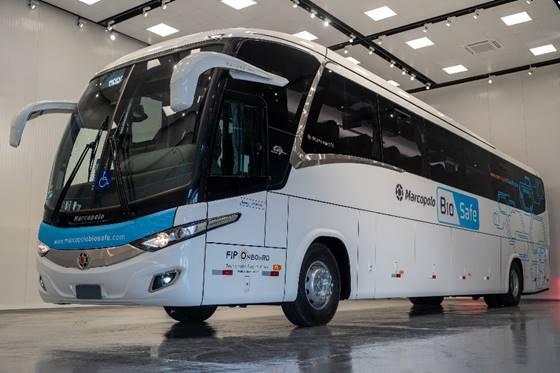 Ônibus com inovações - Foto: Gelson Mello da Costa / Divulgação