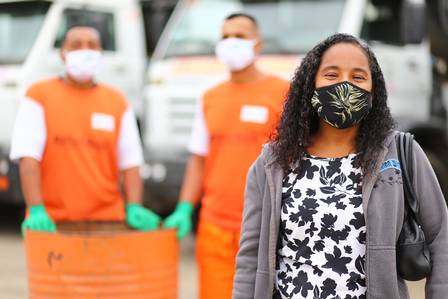 Cleinaldo, Aroldo e Luzinete - Foto: : Rafael Barreto / Divulgação Prefeitura de Belford Roxo