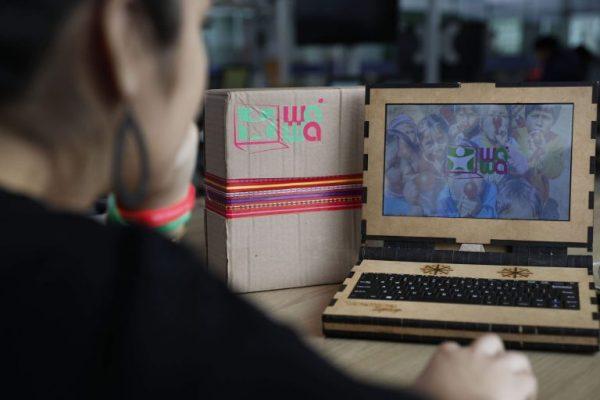 Laptop de madeira - Foto: divulgação