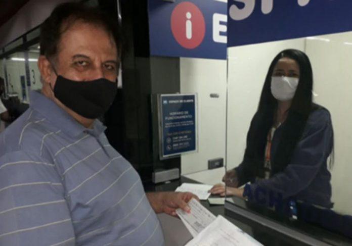 Advogado recupera cheques - Foto: reprodução / TV Globo