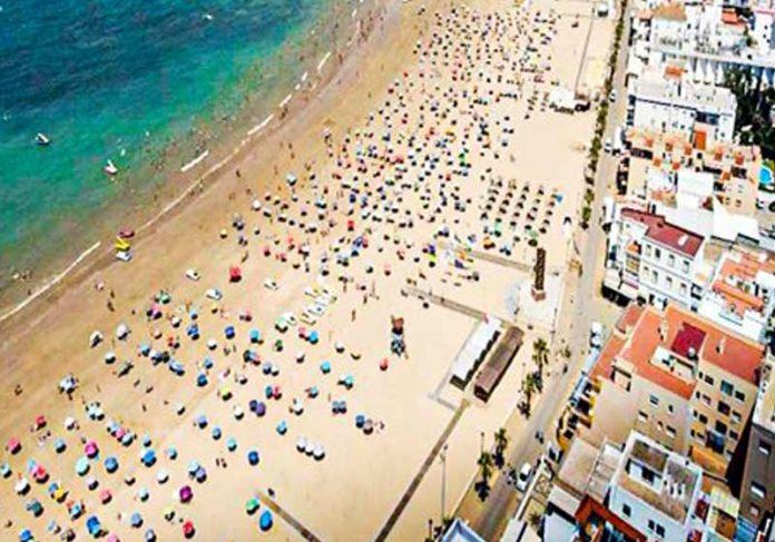 Praia de Regla - Polícia de Chipiona / Reprodução