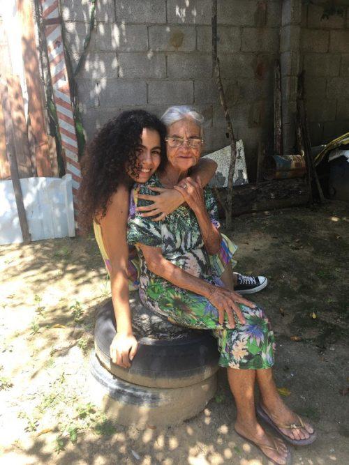 Clarice e dona Marlene - Foto: arquivo pessoal