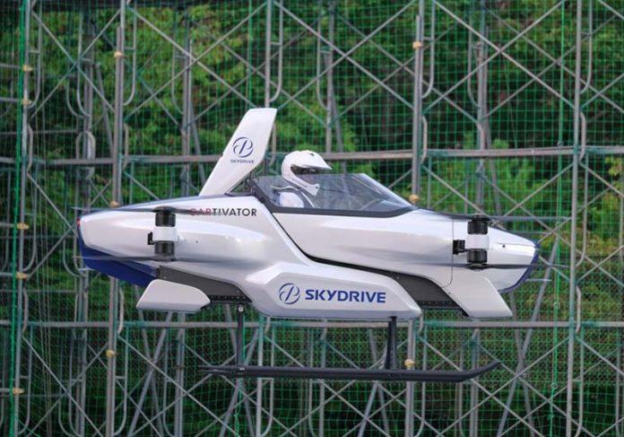 Carro voador - Foto: SkyDrive/CARTIVATOR 2020/via Reuters