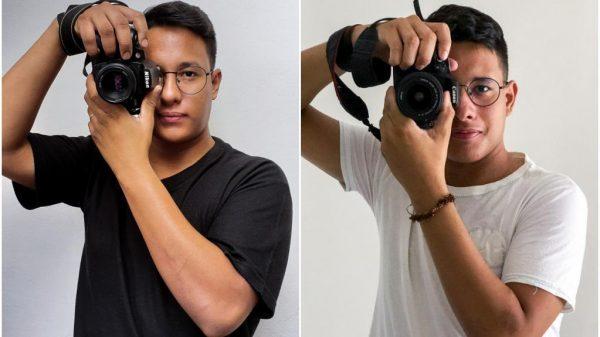 Gêmeos fotografando - Fotos: reprodução / redes sociais