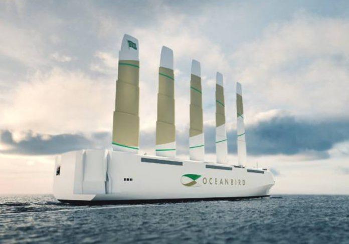 Navio movido a vento - Foto: divulgação /Wallenius Marine