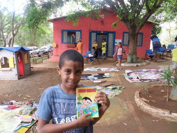 Aluno da escola rural inclusiva - Foto: divulgação