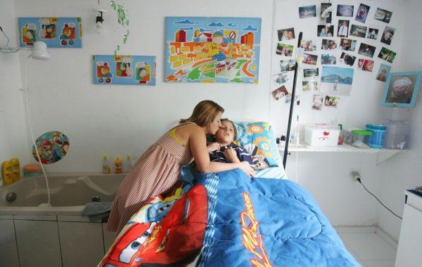 Linda e o filho - Foto: arquivo pessoal