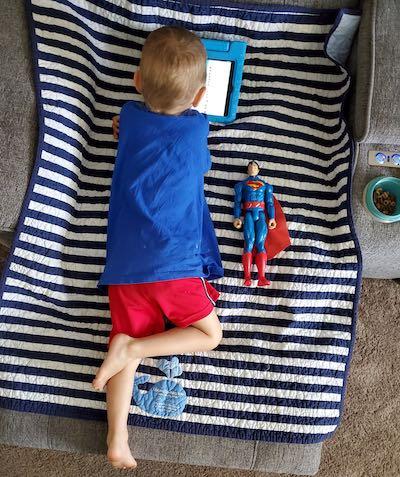 Logan com 3 anos - Foto: SWNS
