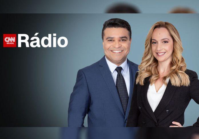Roberto Nonato e Larissa Calderari - Foto: divulgação / CNN Rádio