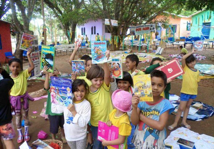 Alunos da escola rural inclusiva - Foto: divulgação